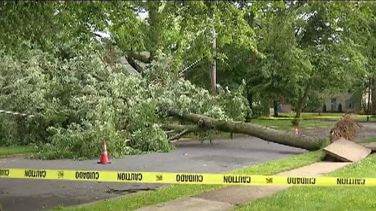 Three dead after powerful storms sweep through Northeast
