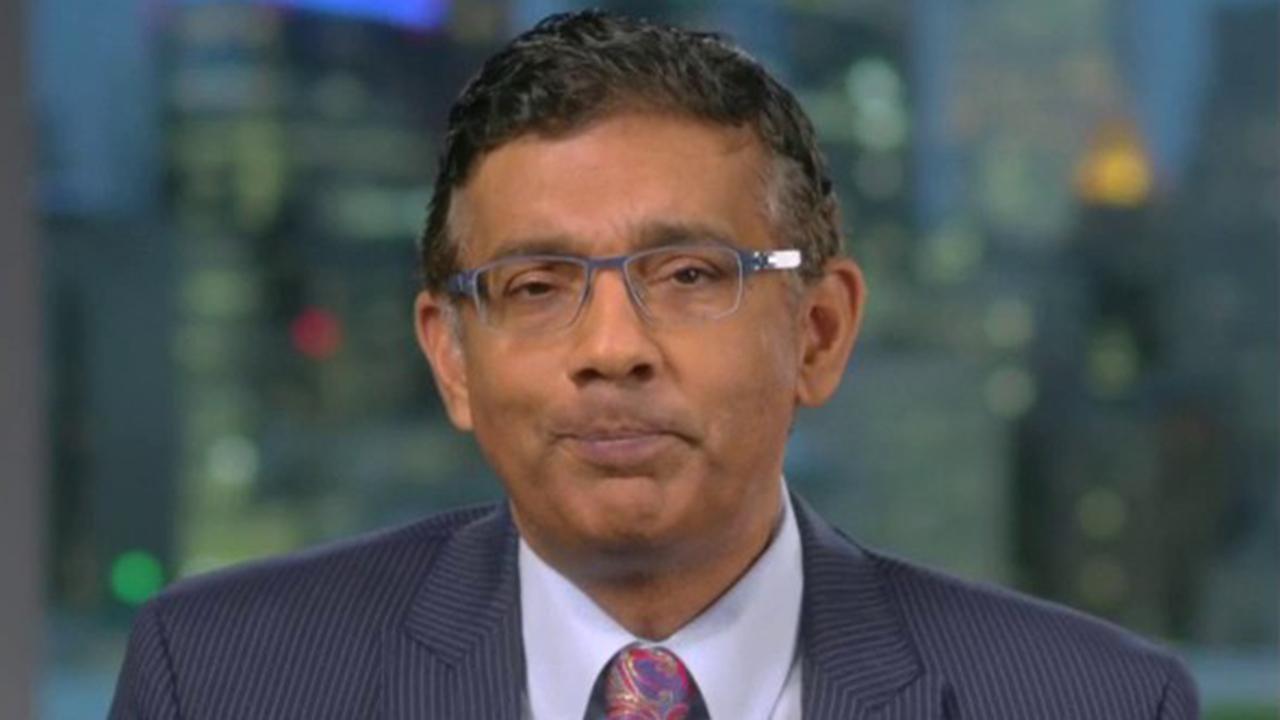 Dinesh D'Souza discusses his 2018 pardon from President Trump