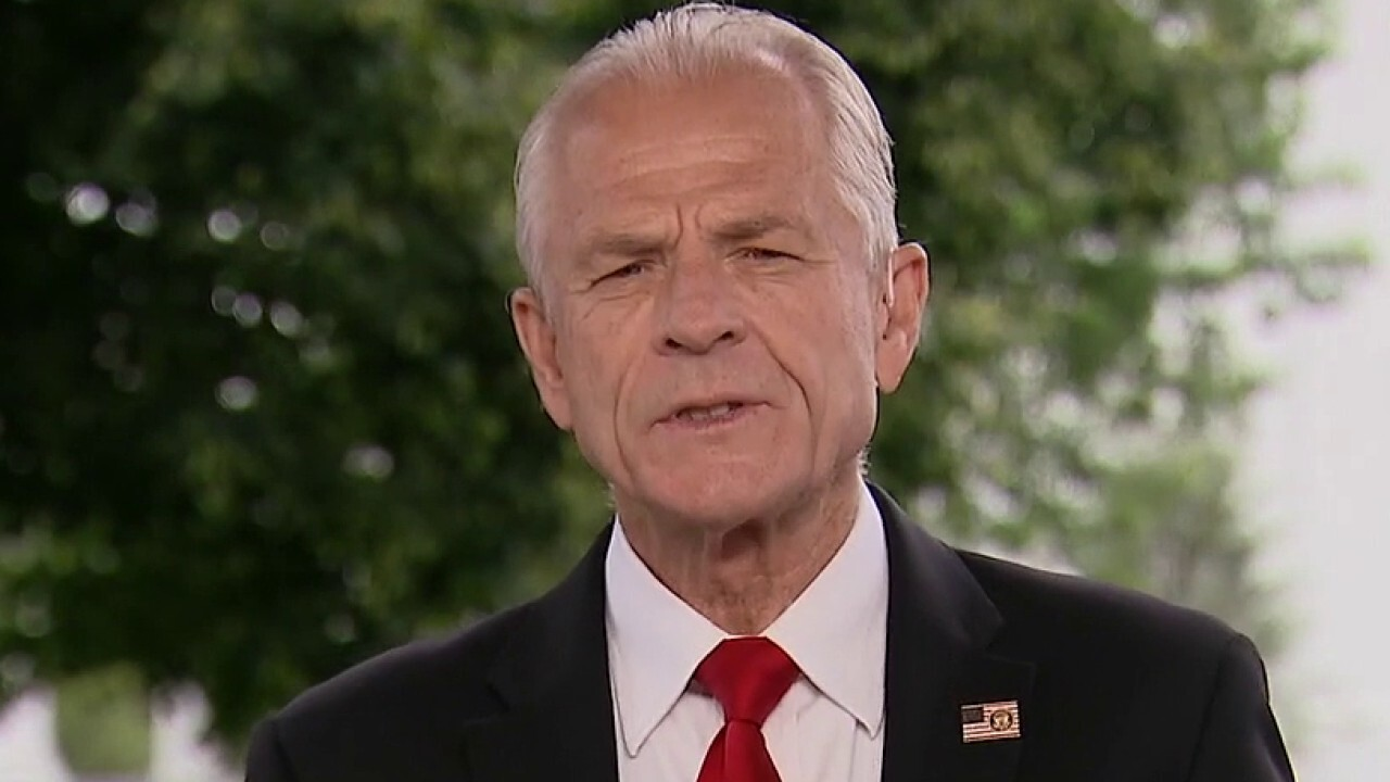 White House trade adviser Peter Navarro discusses Trump's plan for a second term on 'Sunday Morning Futures.'
