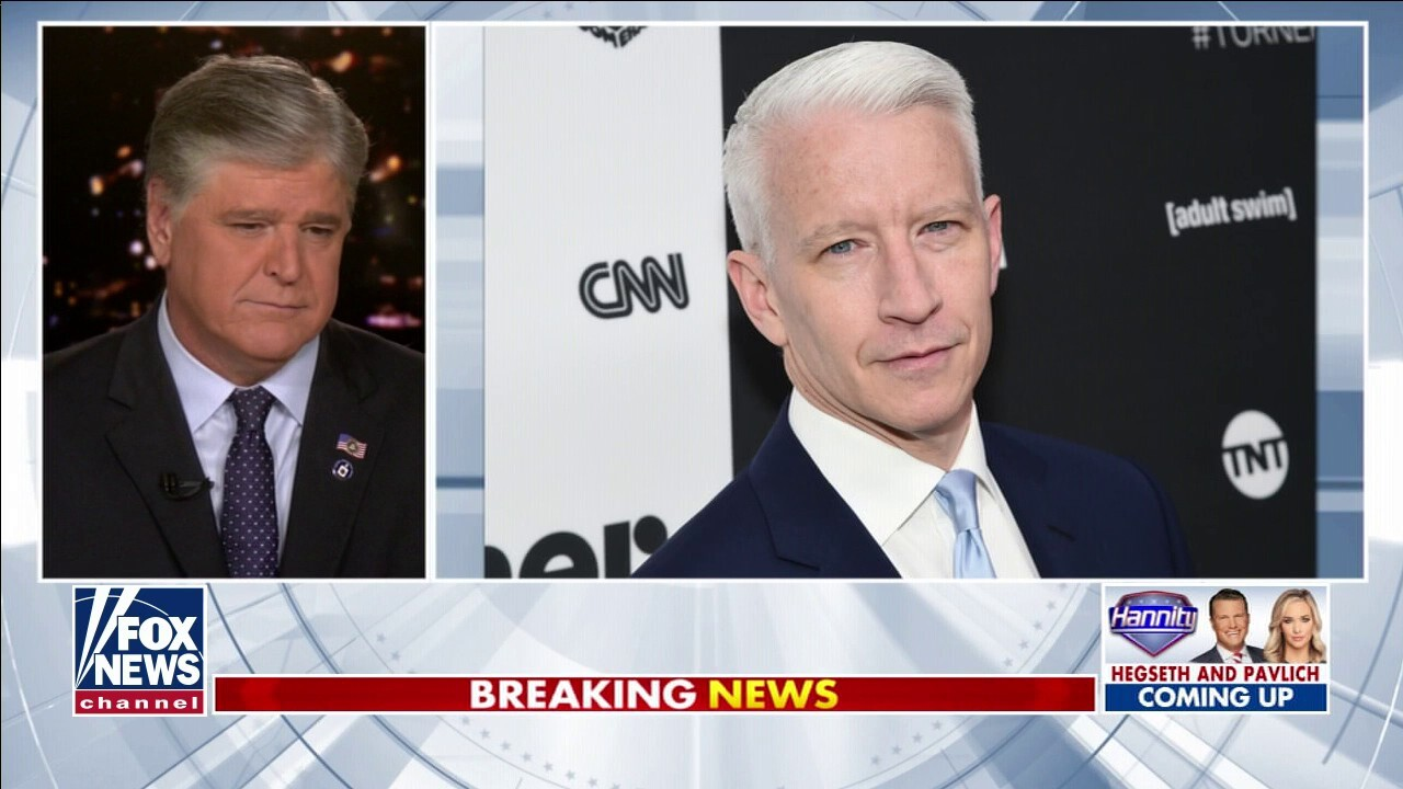 Sean Hannity calls out condescending remark from Anderson Cooper about Trump supporters