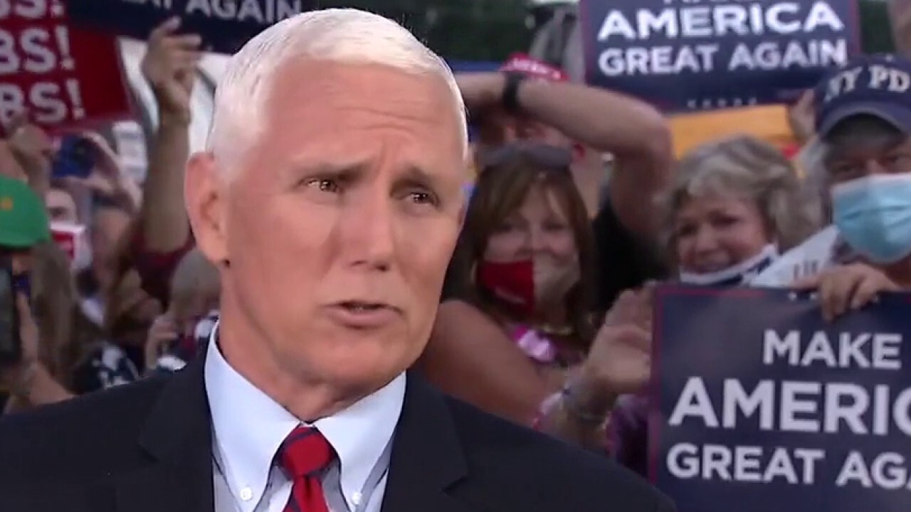 Mike Pence: 'Radical left, Antifa are moving people around the country'
