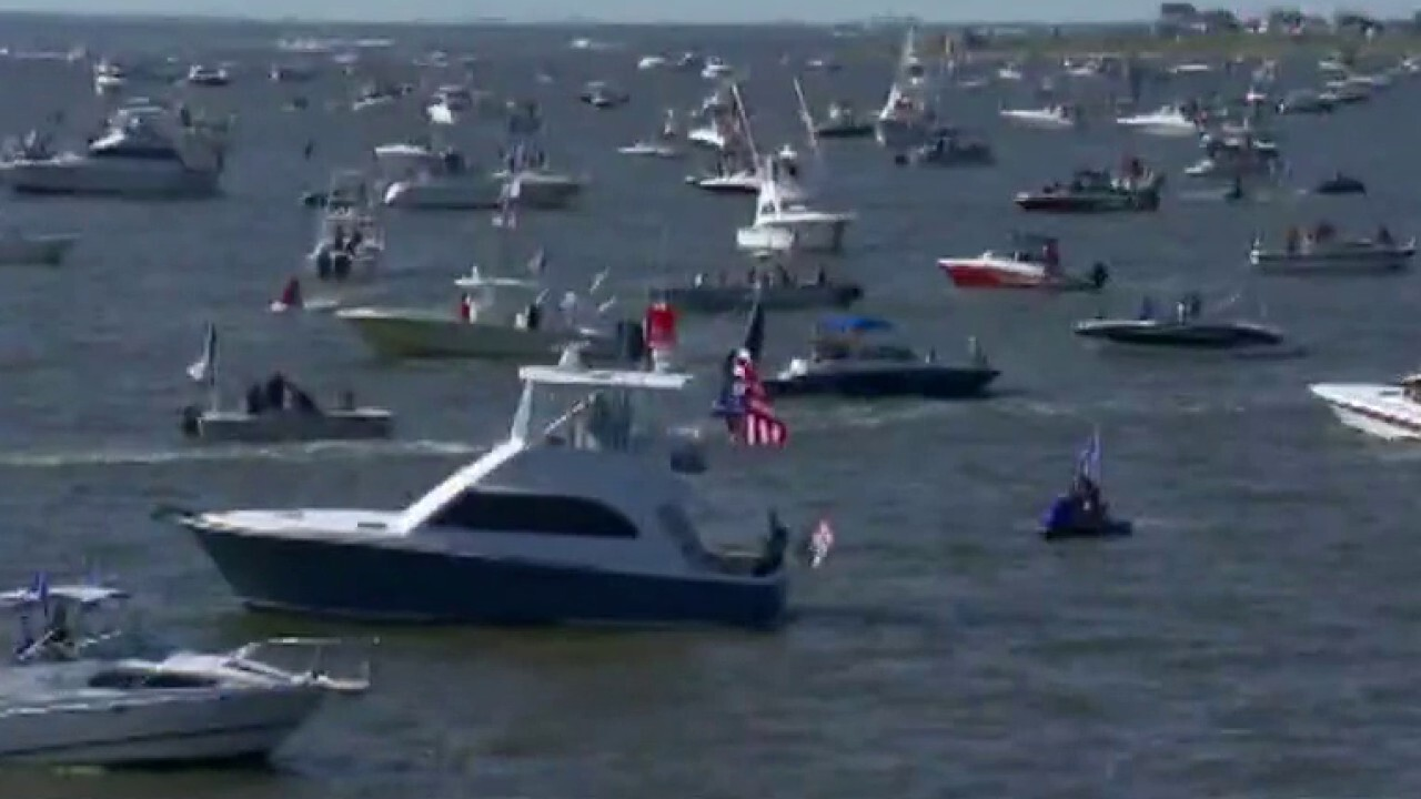 Trump supporters rally in boat parades across US