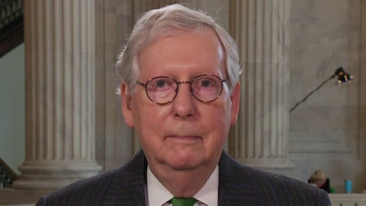 McConnell rips Schumer: He's 'yielding' to the left