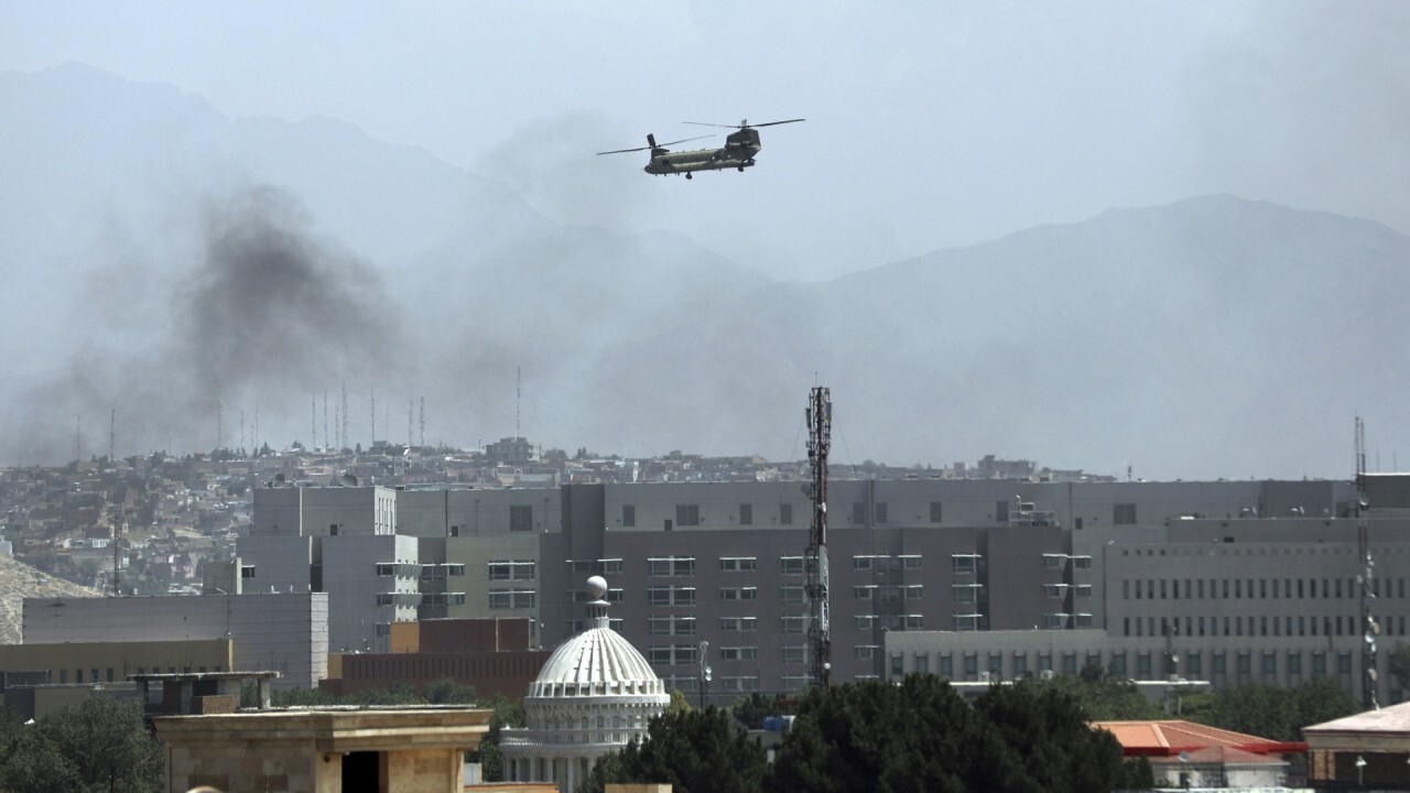 Taliban reaches outskirts of Kabul as US workers are evacuated