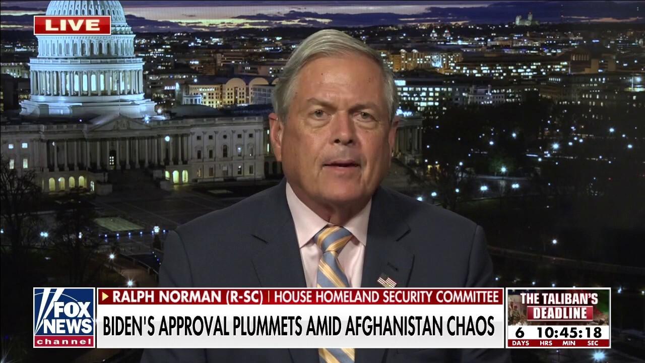 America losing allies amid Biden admin Afghanistan debacle: Rep. Norman