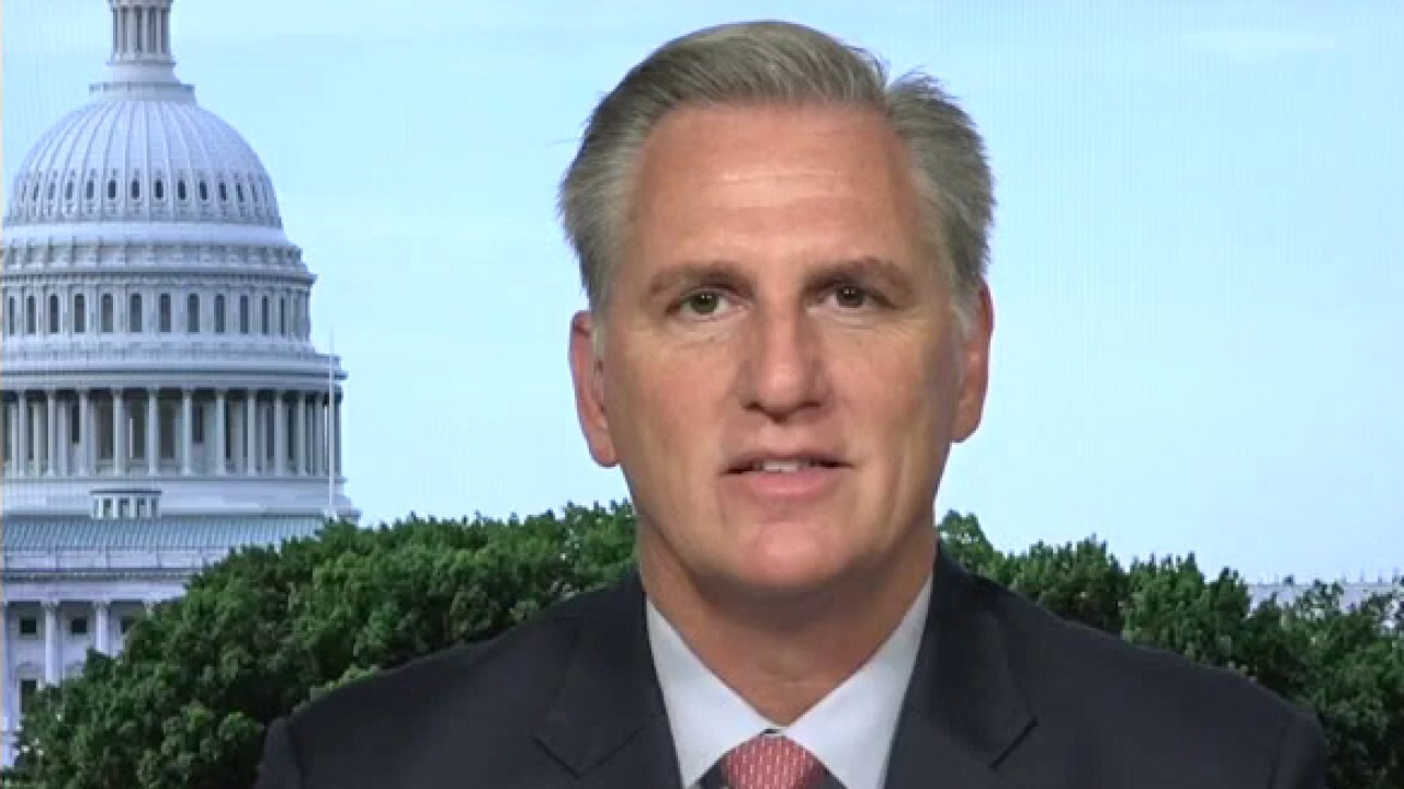 Biden's plan is 'putting America on the wrong path': Rep. McCarthy