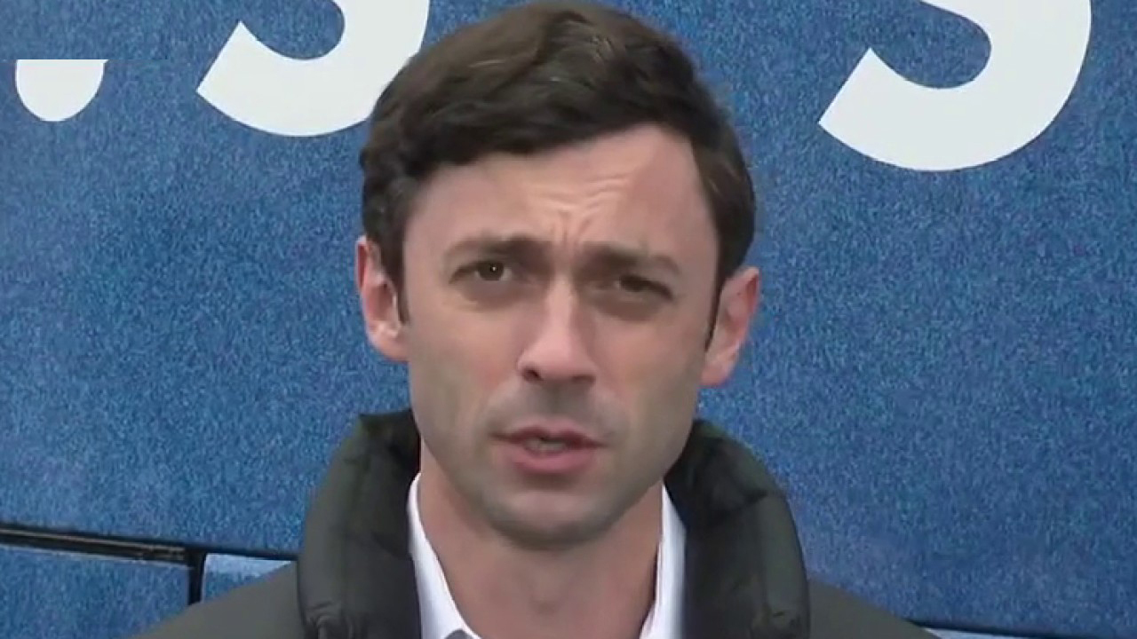 Jon Ossoff delivers a message to the Fox News audience