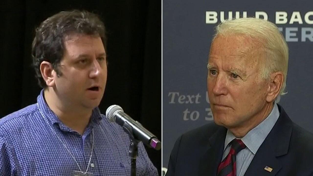 Biden fields softball questions