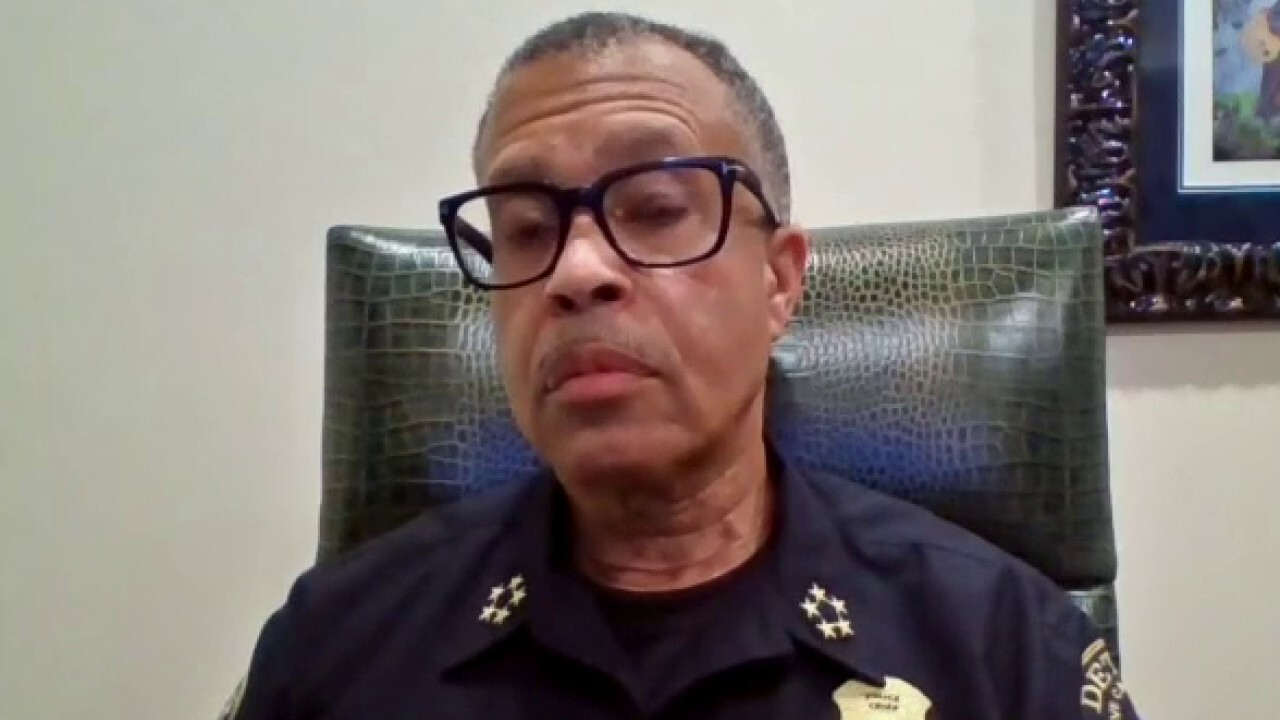 Detroit police chief on decision not to enforce curfew, threat posed by outside agitators