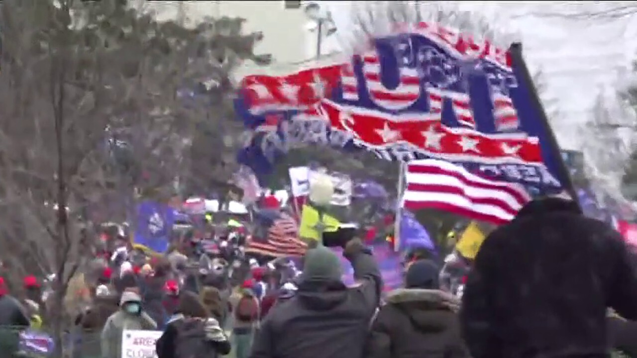 Pro-Trump protesters breach security barriers on Capitol Hill