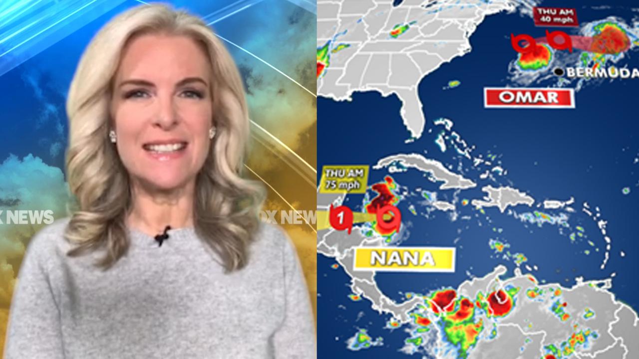 National forecast for Wednesday, September 2