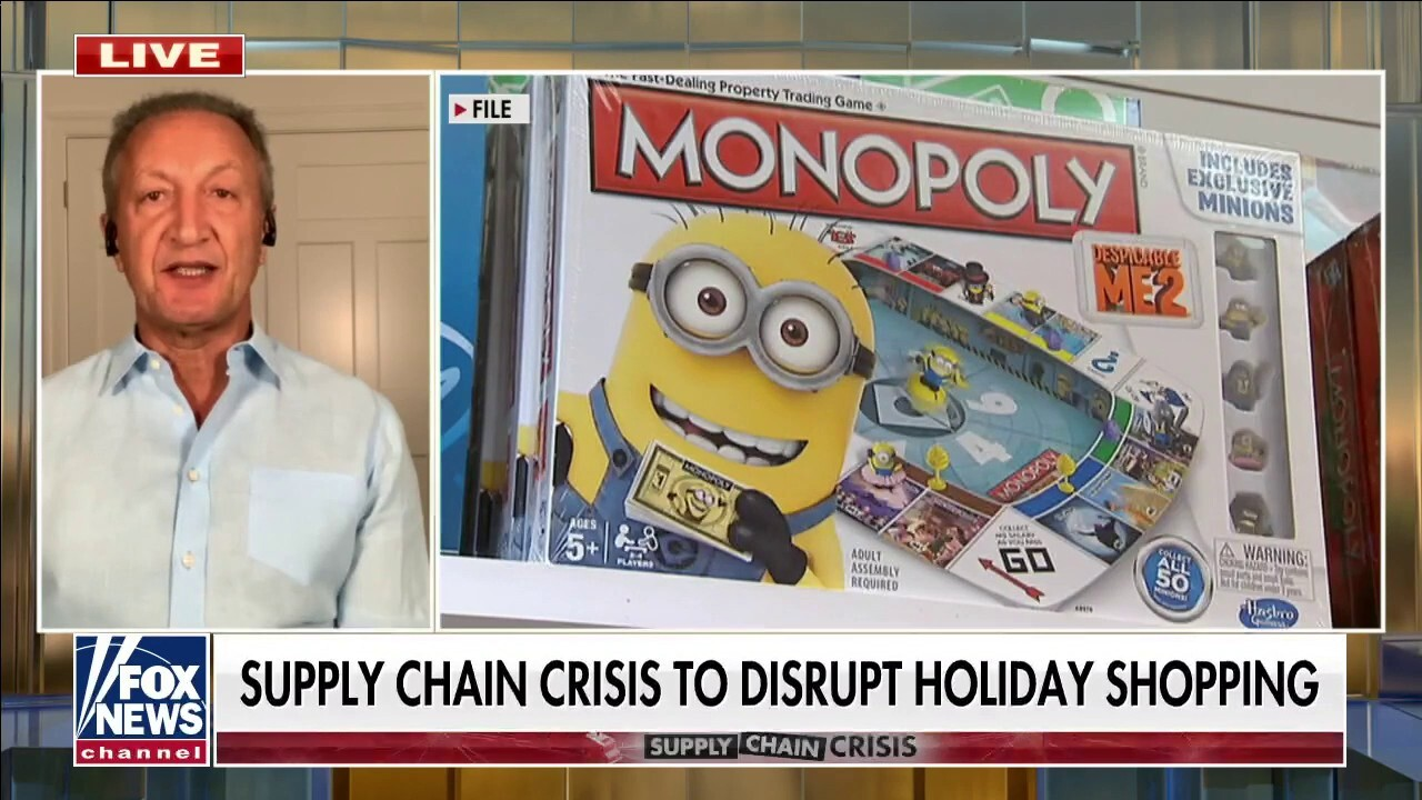 Toy maker on supply chain crisis: 'It's going to be a tough Christmas'