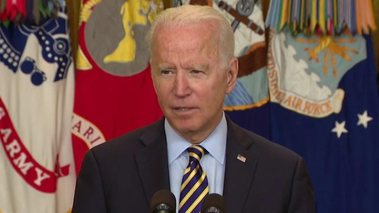 Afghanistan government crumbles despite Biden's assurances