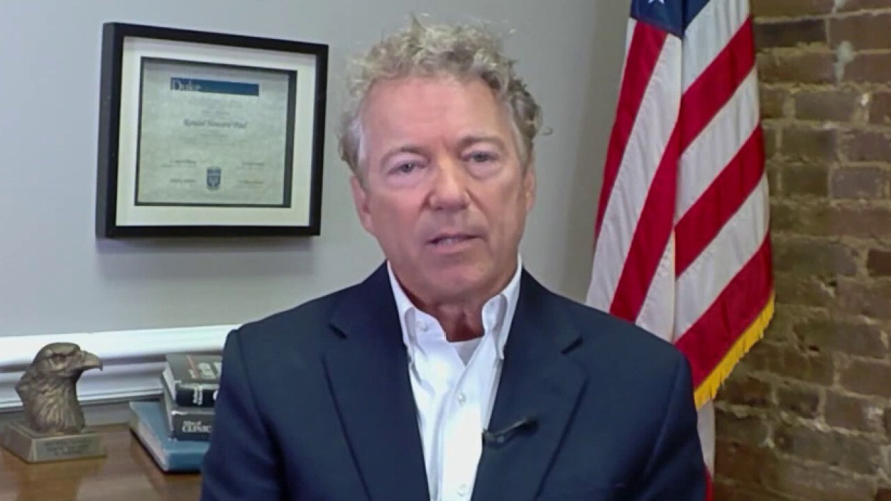 Rand Paul says the problem in Afghanistan is that 'we stayed too long'