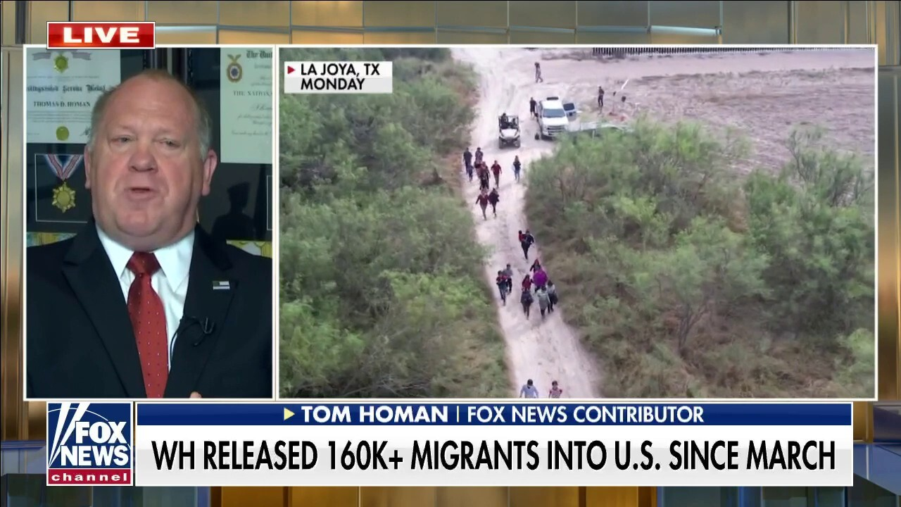Tom Homan torches Mayorkas over border crisis: 'Open borders gone wild'