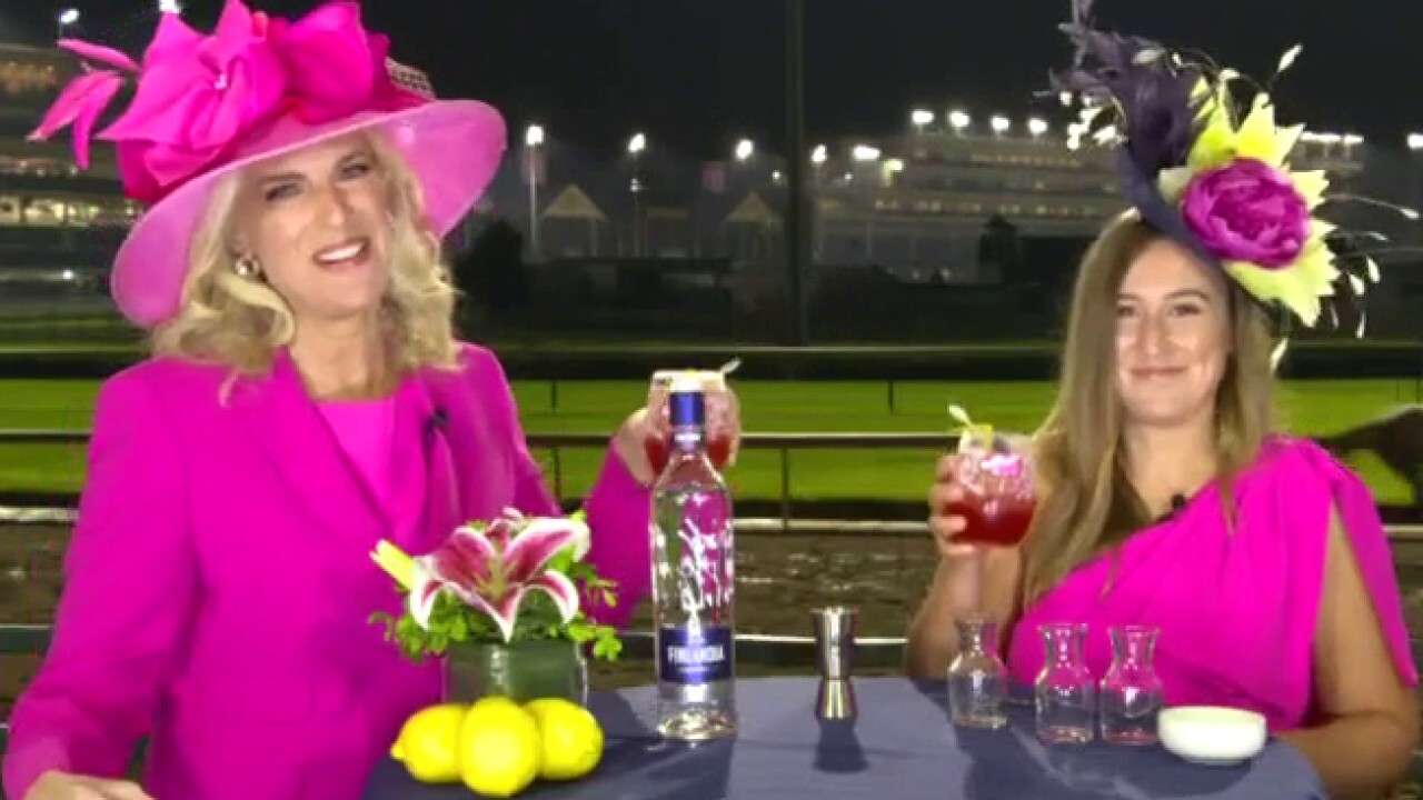 Janice Dean makes official drink of the Kentucky Derby