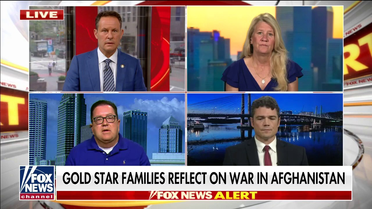 Gold Star families reflect on Afghanistan: Military industrial complex lied to past administrations, kept troops in harm's way