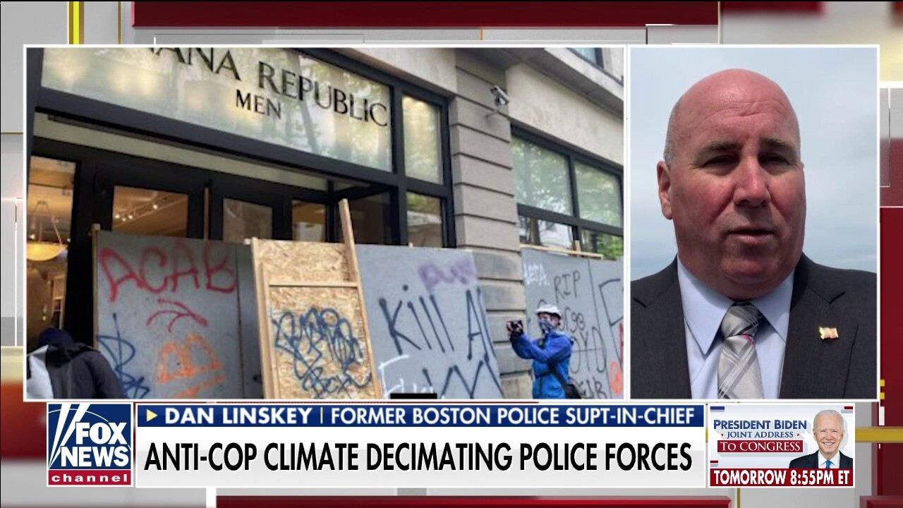 Anti-cop climate decimating police forces across America as officers quit amid low morale