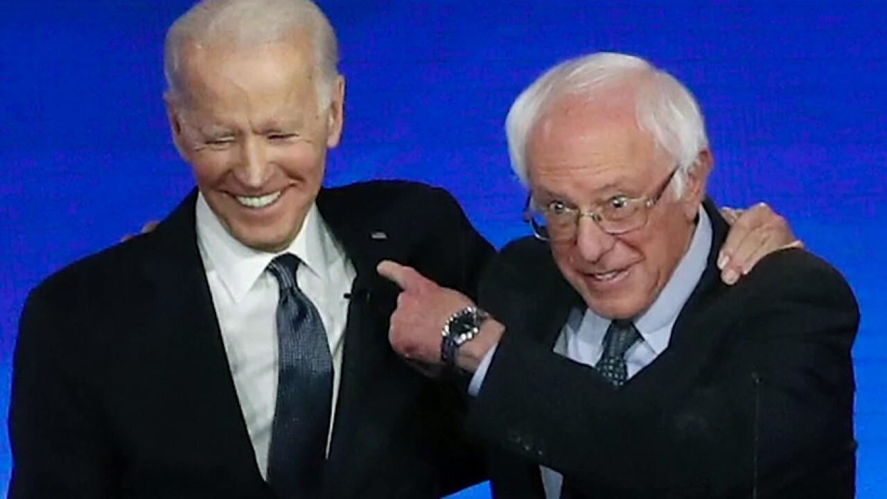 Is Joe Biden running Bernie's progressive playbook?
