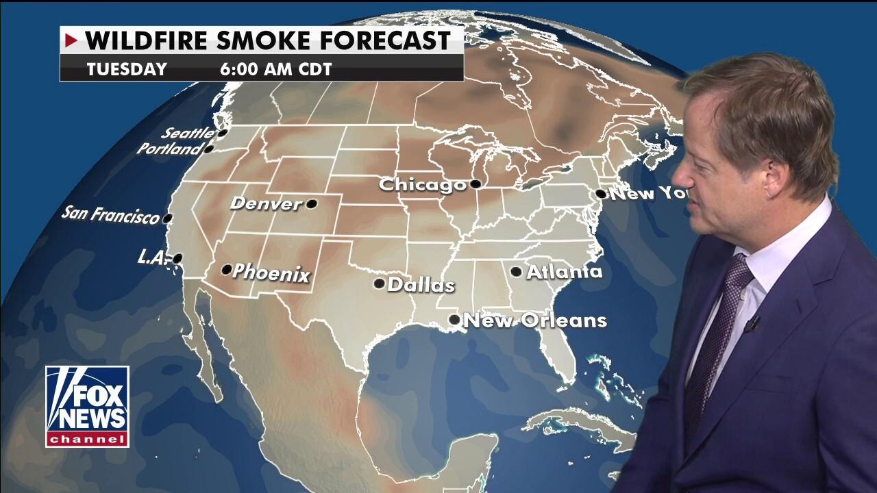 National forecast for Sunday, September 20