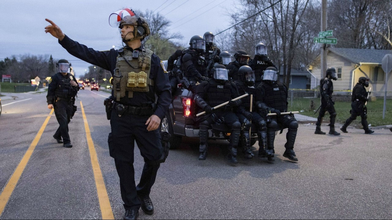 Police officer-involved shooting sparks unrest in Minnesota city