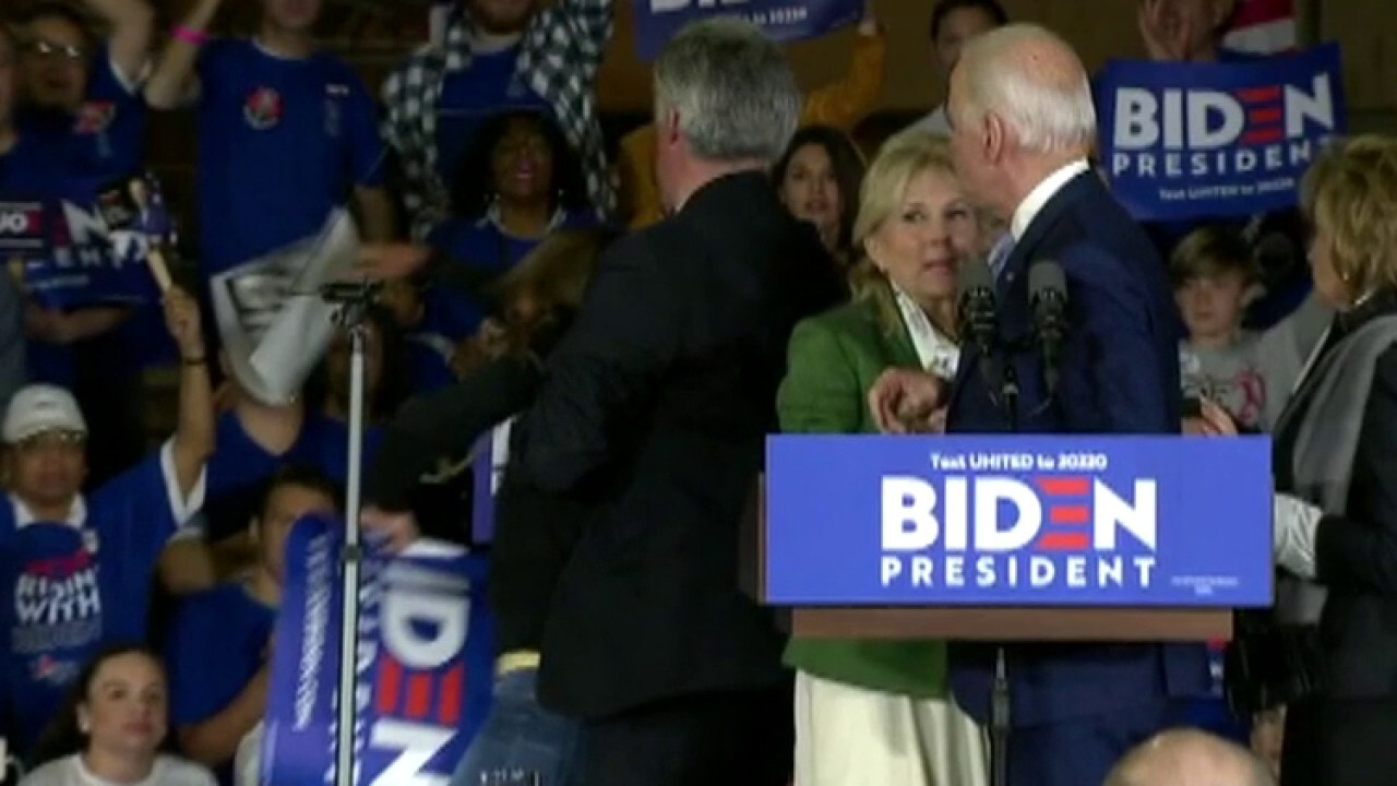 Presidential candidates' safety in focus as protesters storm Biden stage