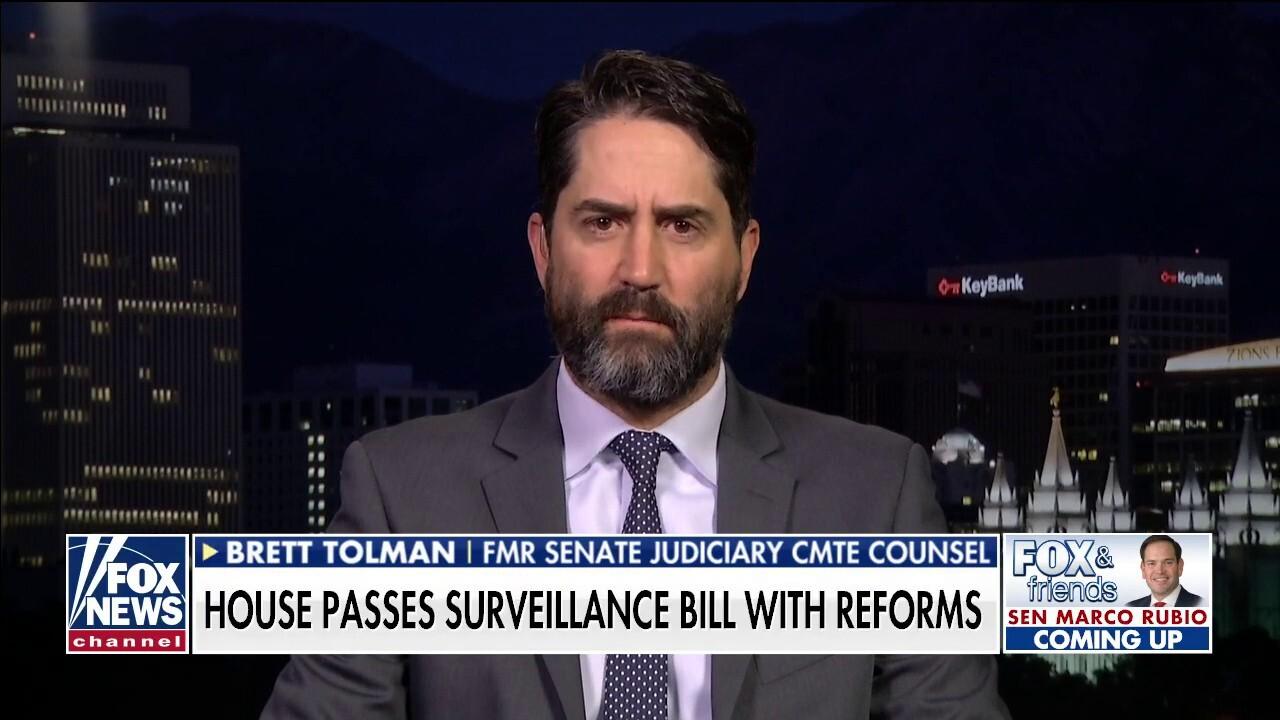 Former US Attorney Brett Tolman: Republicans caving to pressure from DOJ on FISA bill