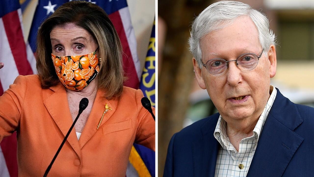 Senate Democrats block vote on McConnell $500B coronavirus relief bill
