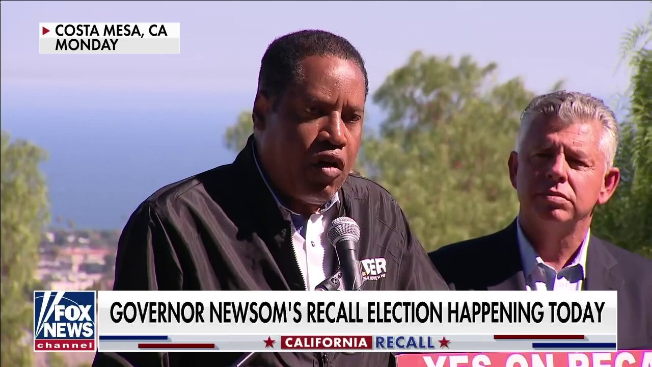 Californians to vote on Newsom recall today