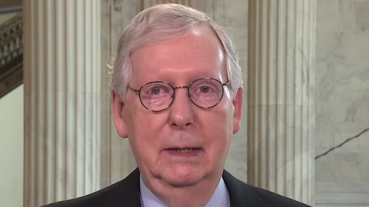 McConnell blasts AOC for her agenda, says it's 'not in the middle'