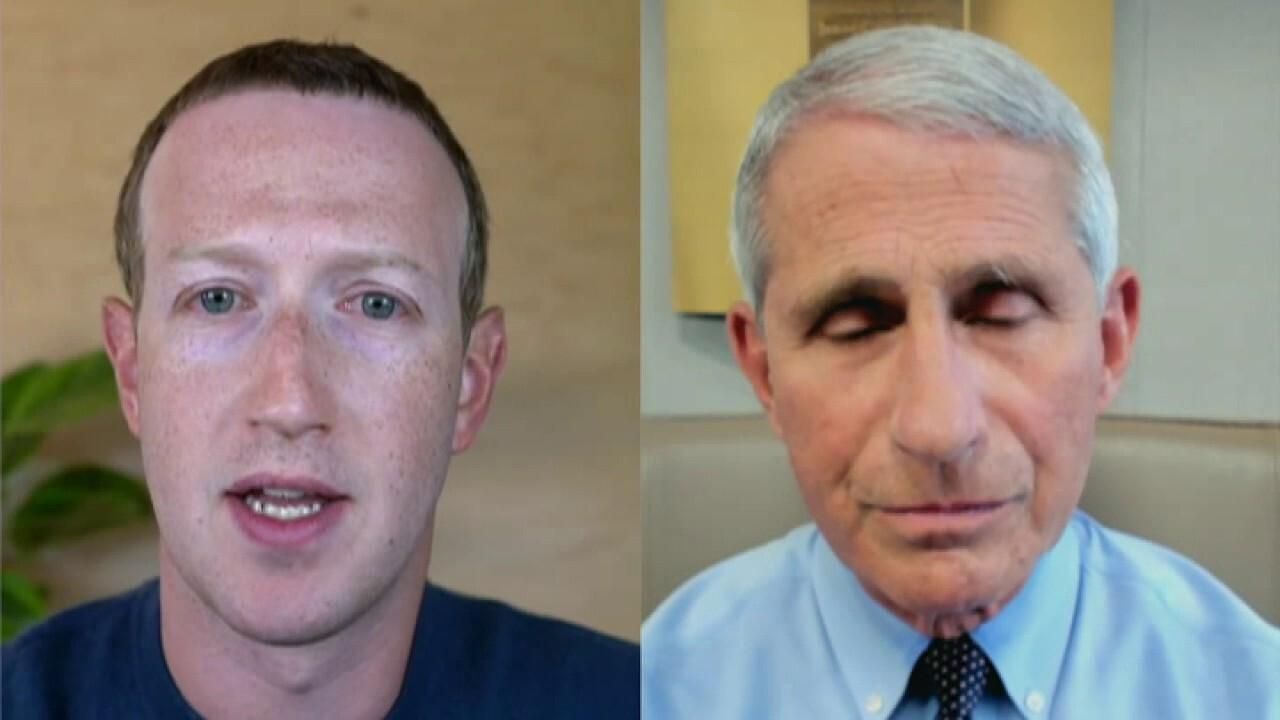 Mark Zuckerberg criticizes US coronavirus response