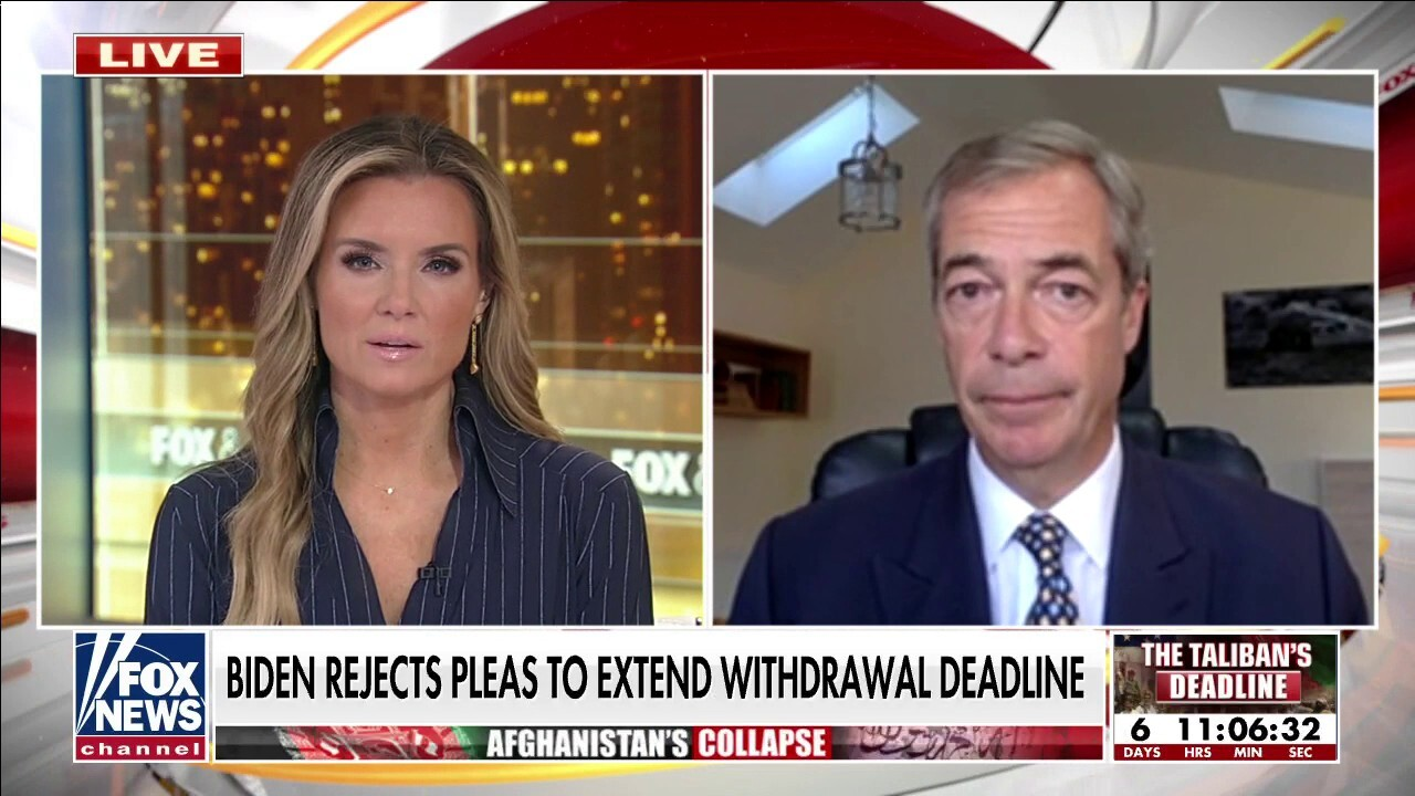 Farage: Britain would 'no way' show military cooperation with America led by Biden admin