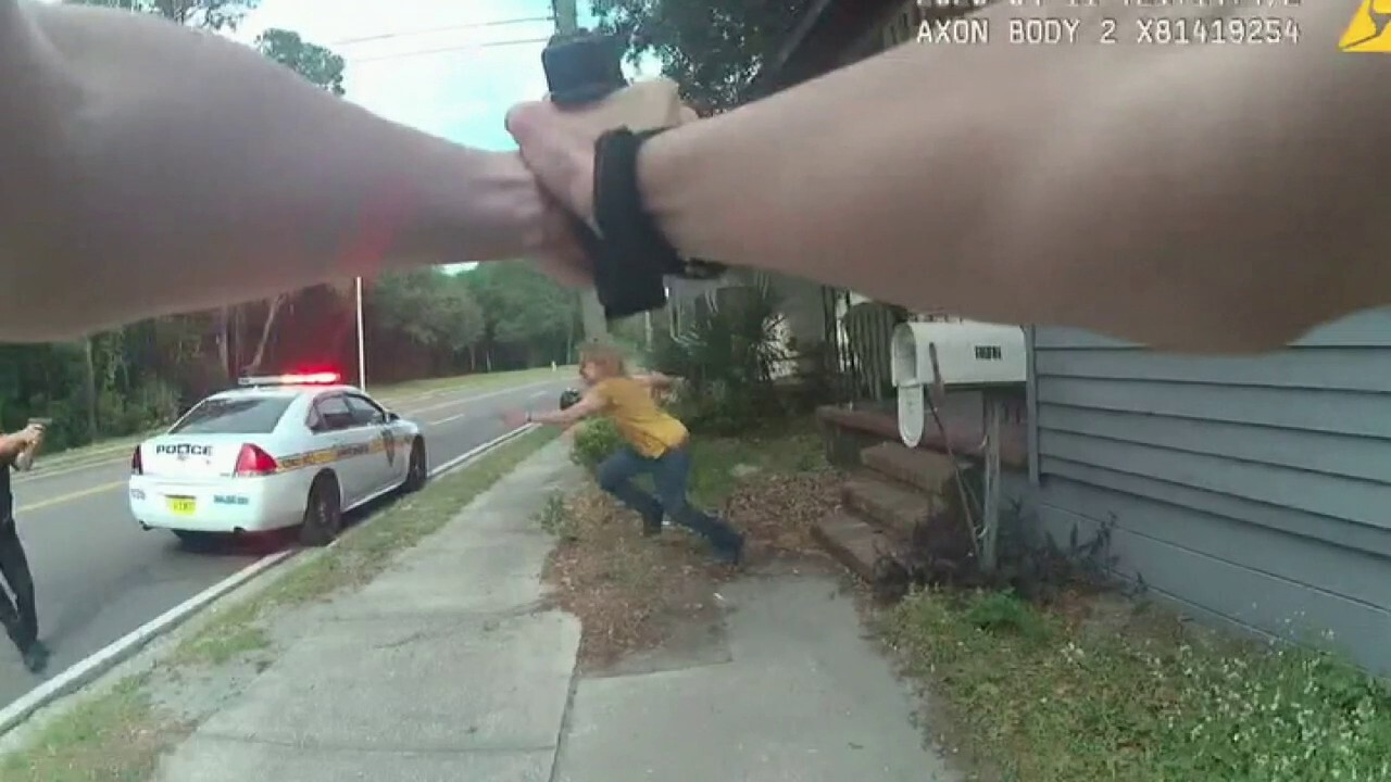 Police bodycam footage shows officer involved shooting in Duval, Florida