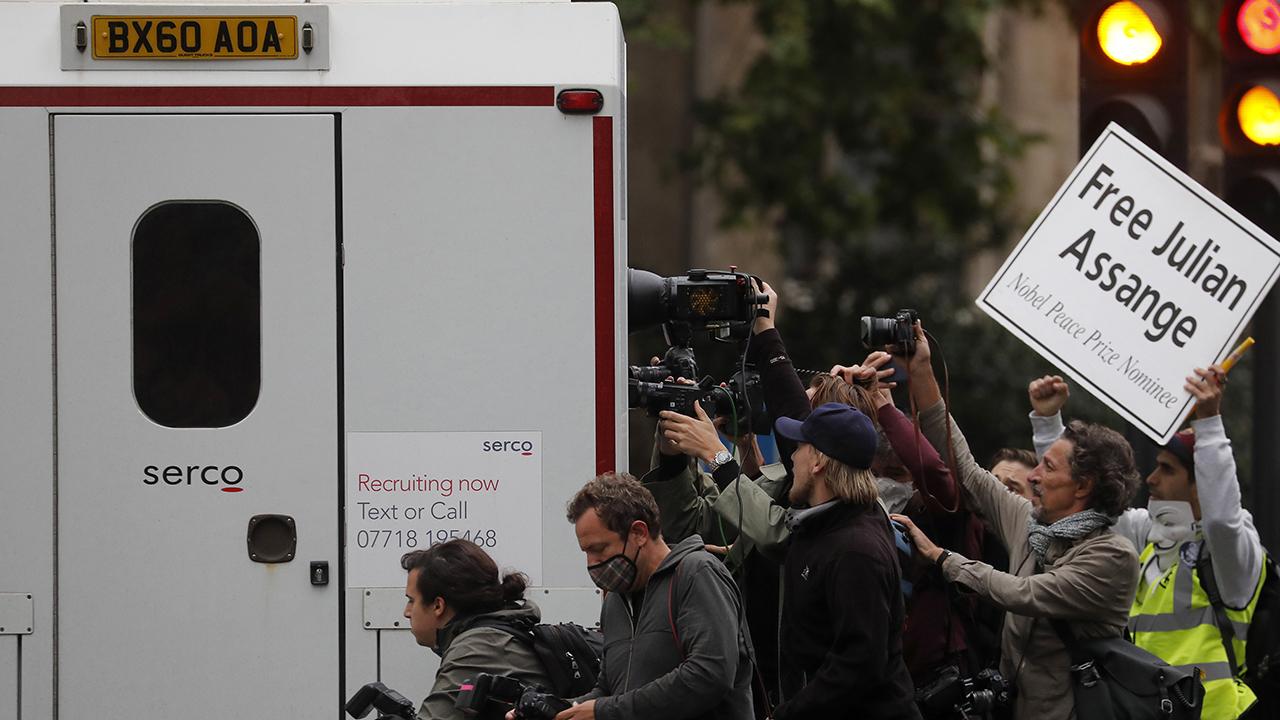 Julian Assange's extradition hearing underway
