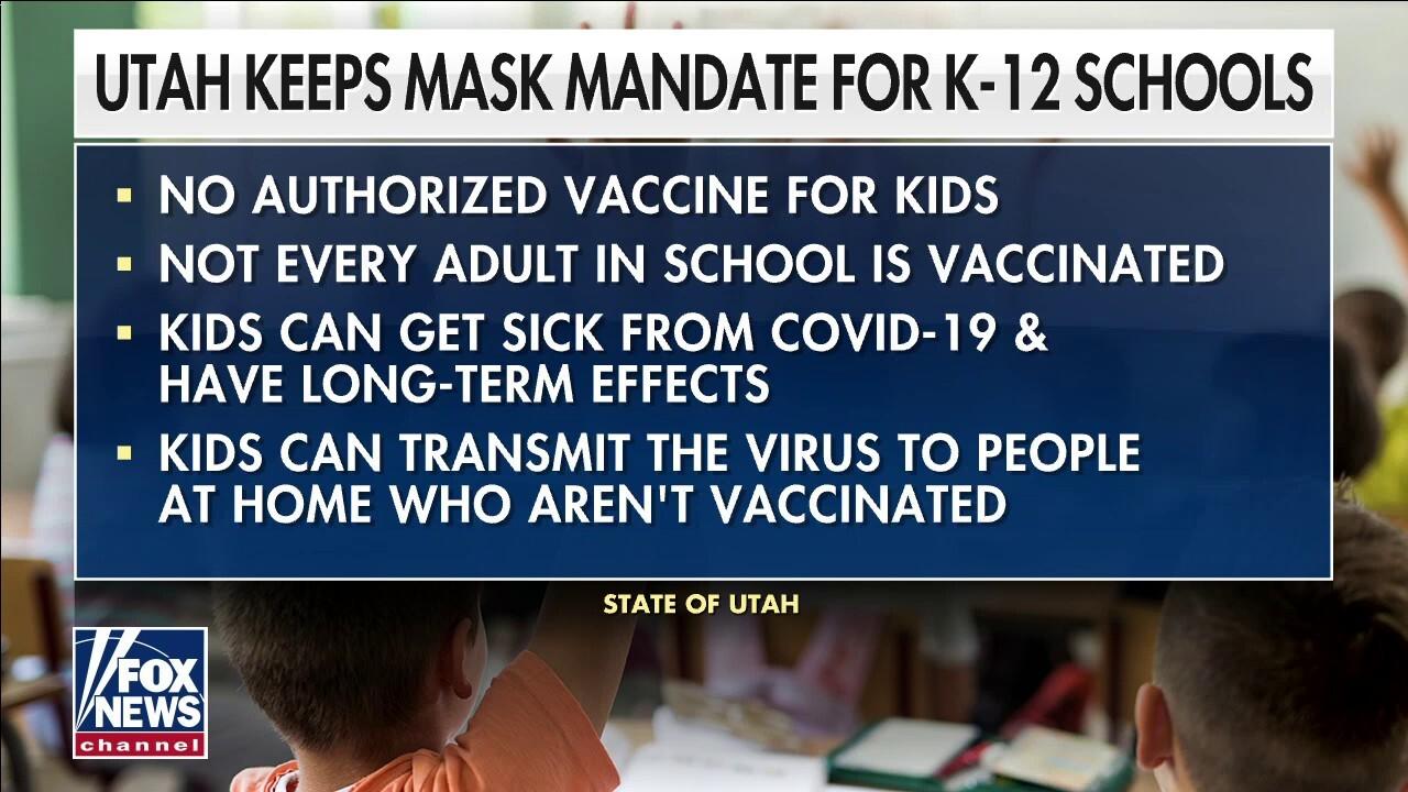Utah parents to local school board: No more masks!