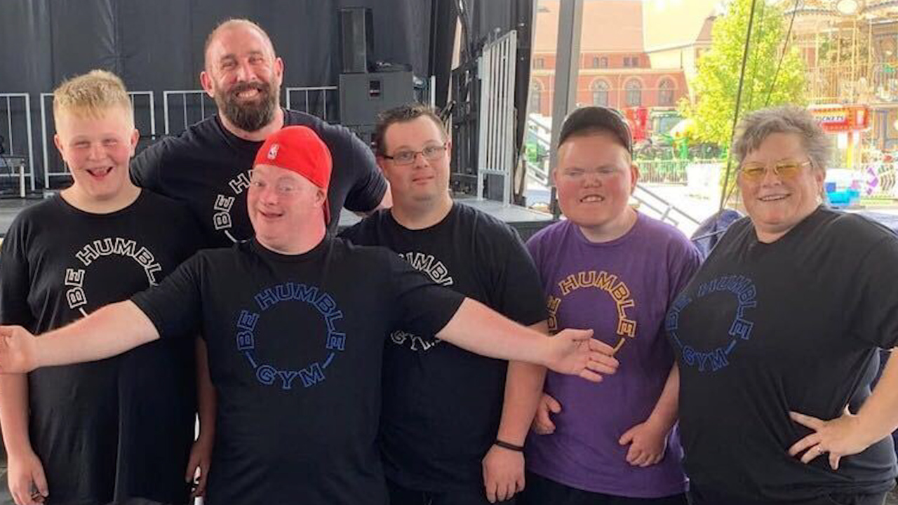 Air Force vet creates powerlifting gym for special needs athletes: 'They saved me'