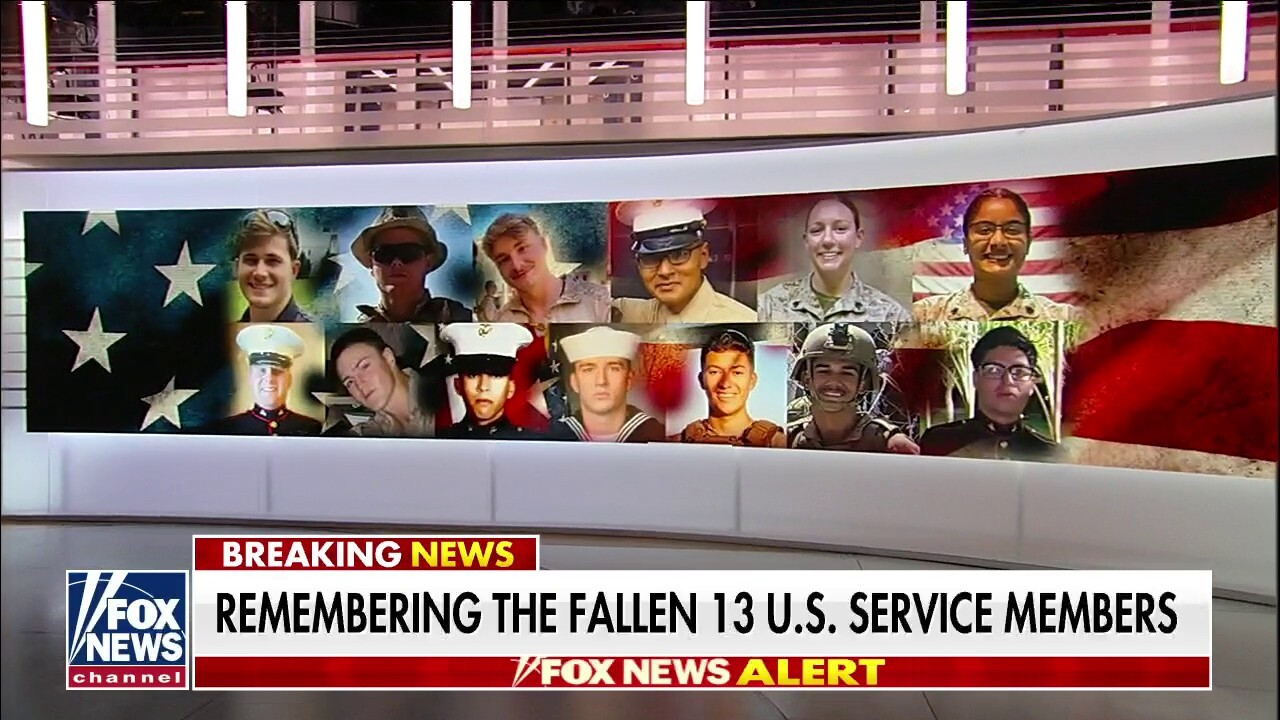 'America's Newsroom' pays tribute to 13 fallen US service members