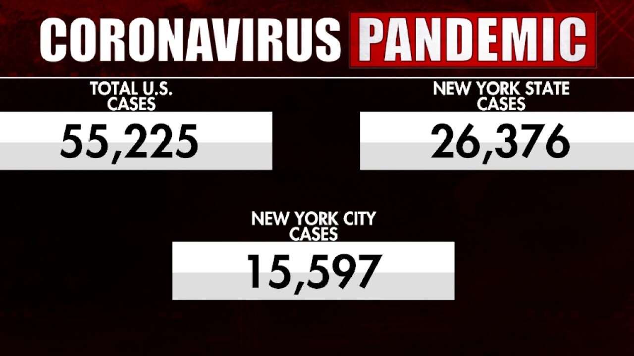 US coronavirus fatalities continue to increase by the day