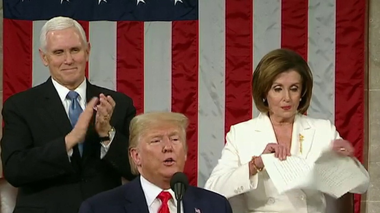 Democrats slam Trump's State of the Union as partisan, Republicans praise president's discipline