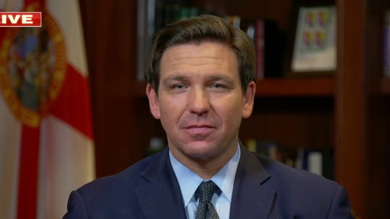 Gov. DeSantis: Florida is going to 'stand up to Biden's failed policies'