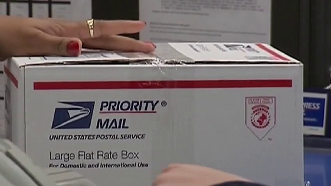 Current USPS days-long backlog in mail delivery raises concerns about mail-in ballot process