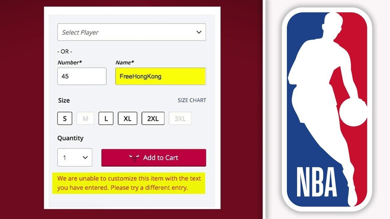 NBA facing scrutiny for blocking fans from putting 'FreeHongKong' on custom apparel orders