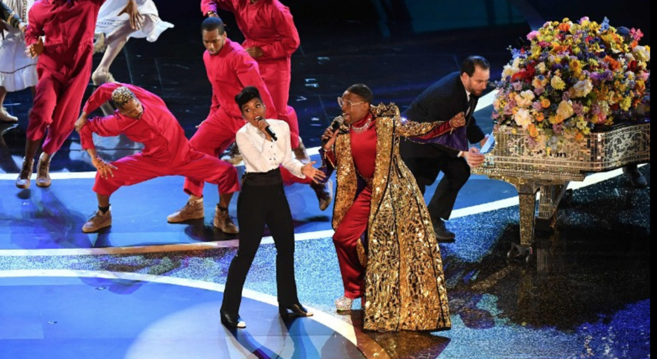 Janelle Monae and Billy Porter open the 2020 Oscars with a performance that brought the star-studded audience to their feet.