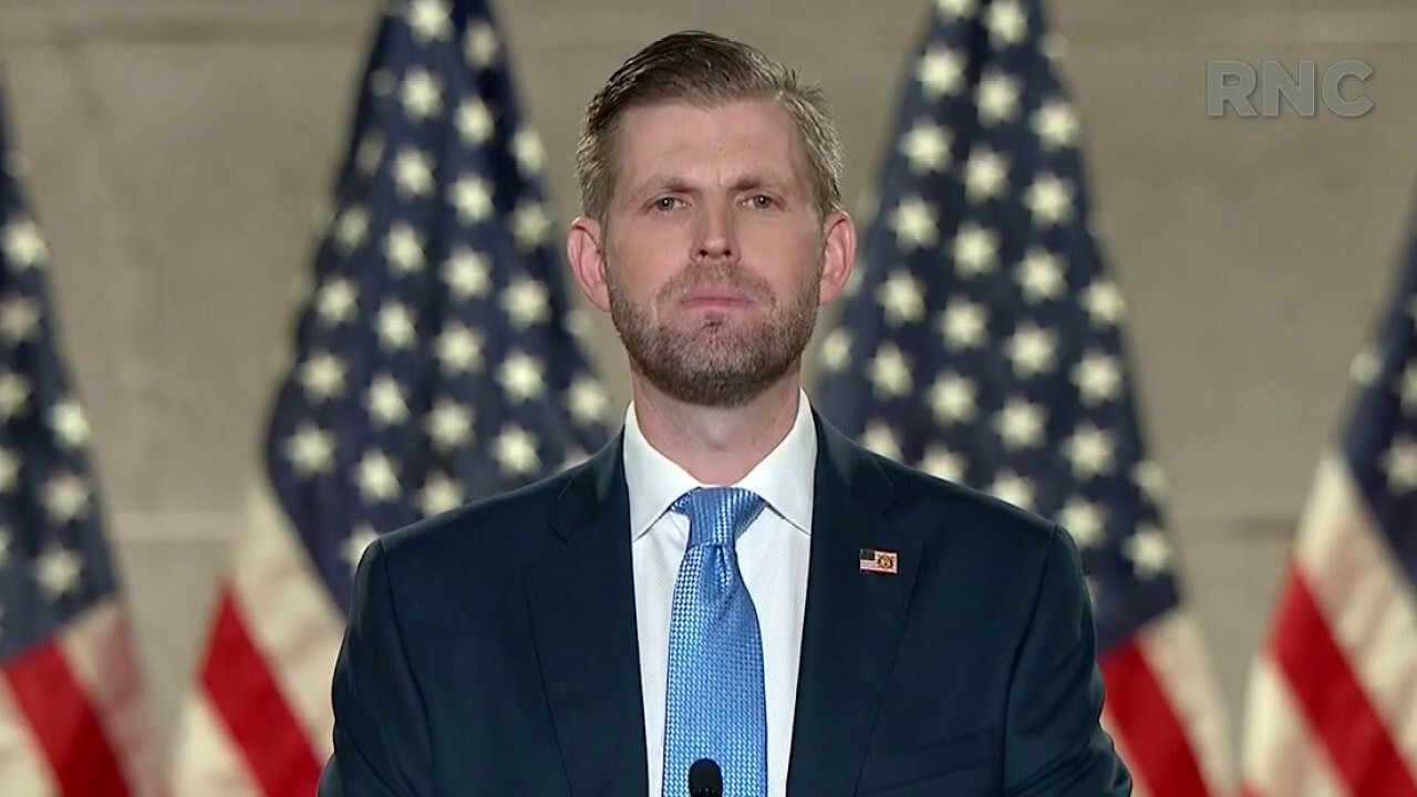 Eric Trump: My father will always support law enforcement and your right to bear arms
