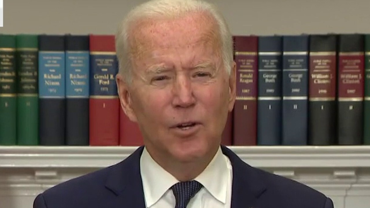 'The Five' slam Biden's disconnected message on Afghanistan