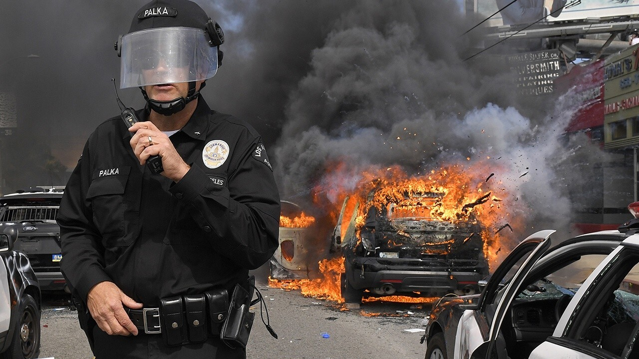 Hollywood ramps up calls to defund police amid riots and looting