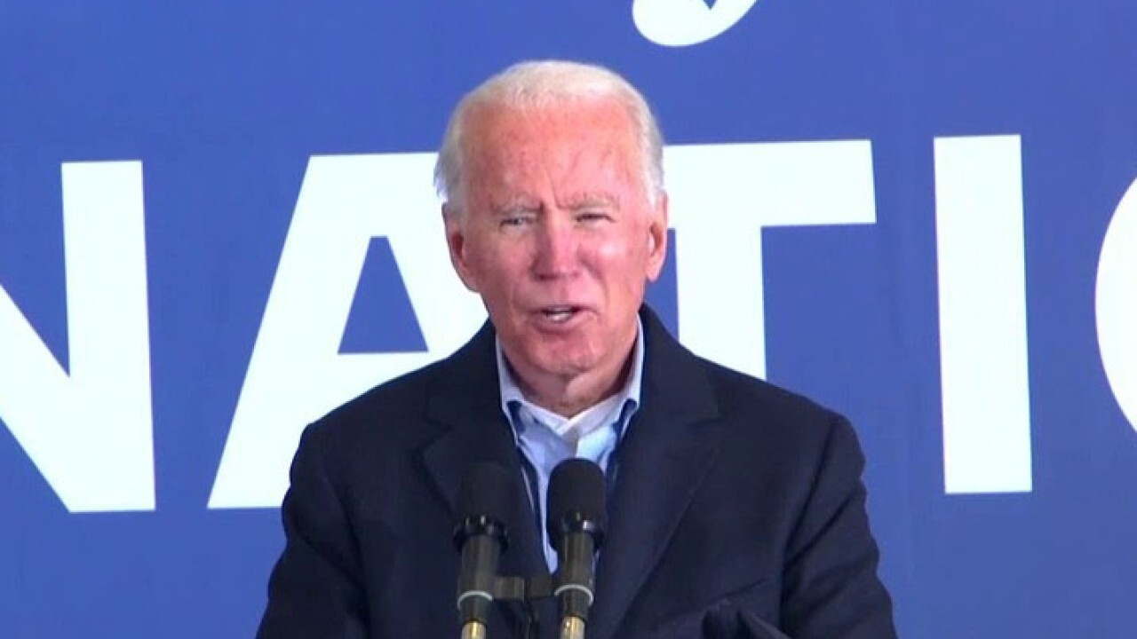 Biden: I will 'hire Dr. Fauci,' we will 'fire Donald Trump'