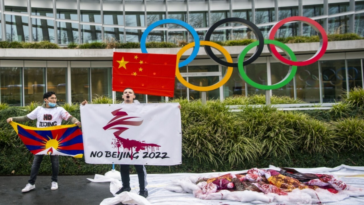 Pompeo urges boycott of 2022 Olympics over China human rights abuses