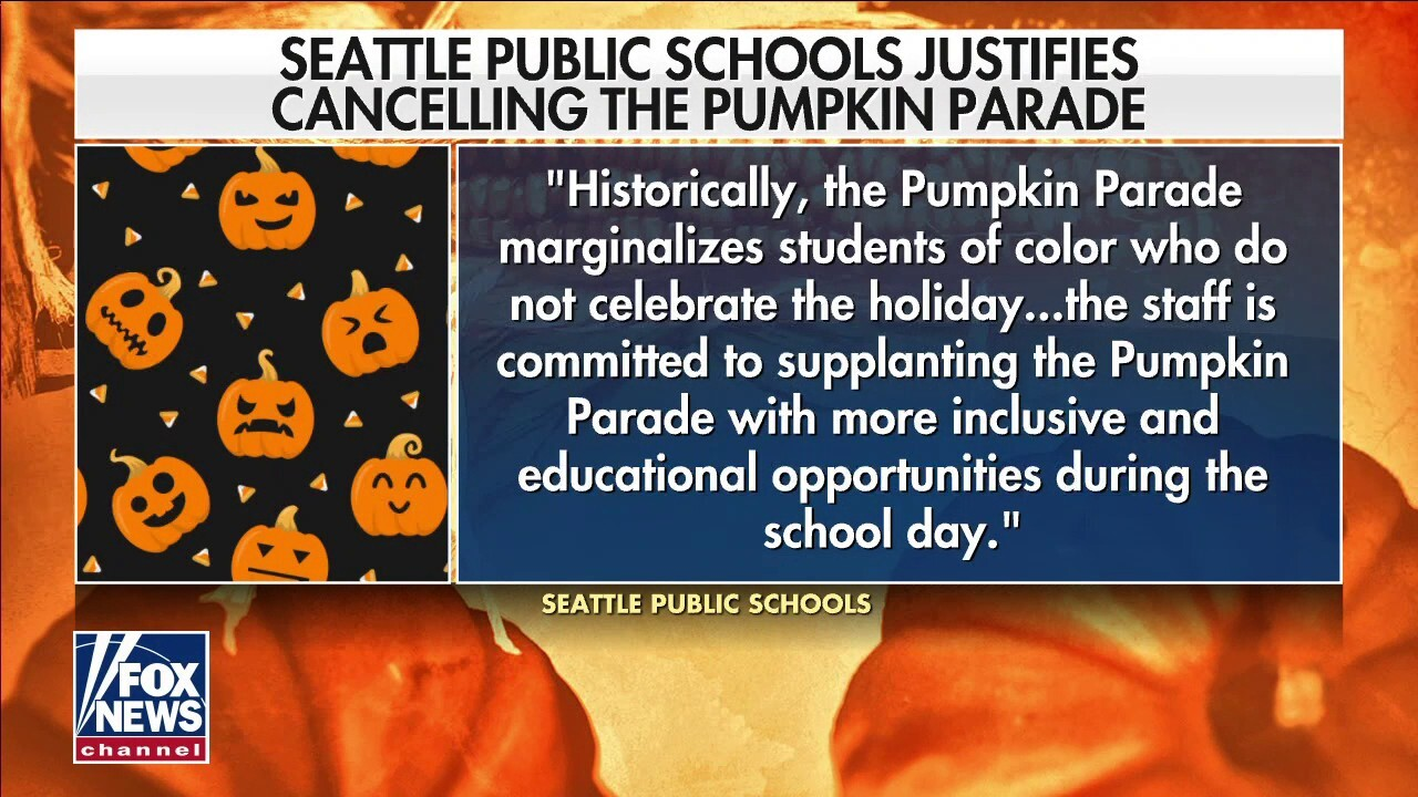 Seattle schools go woke and cancel Halloween parade