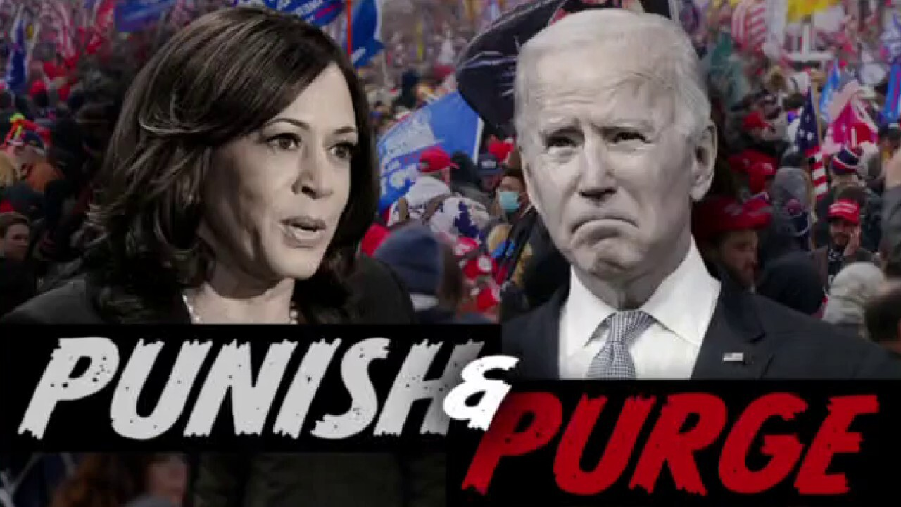 Ingraham: Biden, Harris 'doubled down' on division over unity